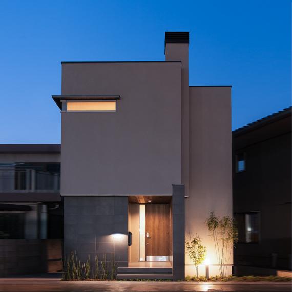 外観|東古松の家|岡山の設計事務所|アークス建築デザイン事務所