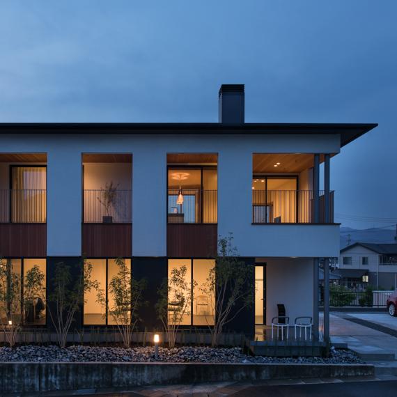 外観|鴨方の家|岡山の設計事務所|アークス建築デザイン事務所