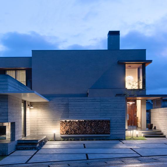 外観|大内の家|岡山の設計事務所|アークス建築デザイン事務所