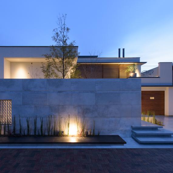 外観|酒津の邸宅|岡山の設計事務所|アークス建築デザイン事務所