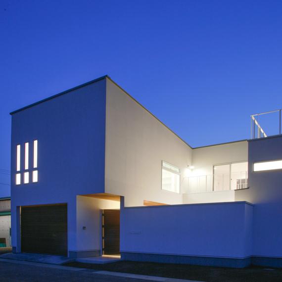 外観|新田の家|岡山の設計事務所|アークス建築デザイン事務所