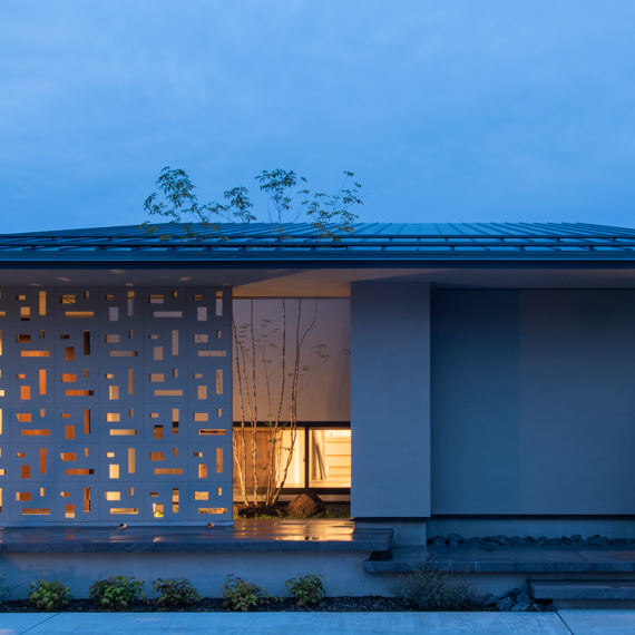 外観|真庭上水田の家|岡山の設計事務所|アークス建築デザイン事務所